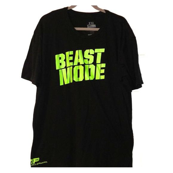 57fa6c7c musclepharm Shirts | Beast Mode Xxl Tshirt | Poshmark